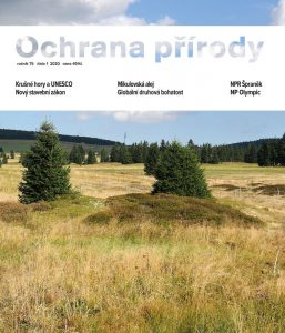 Obálka časopisu Ochrana přírody 1/2020