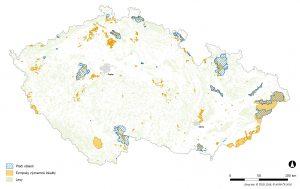 Území soustavy Natura 2000 v ČR spravované AOPK ČR