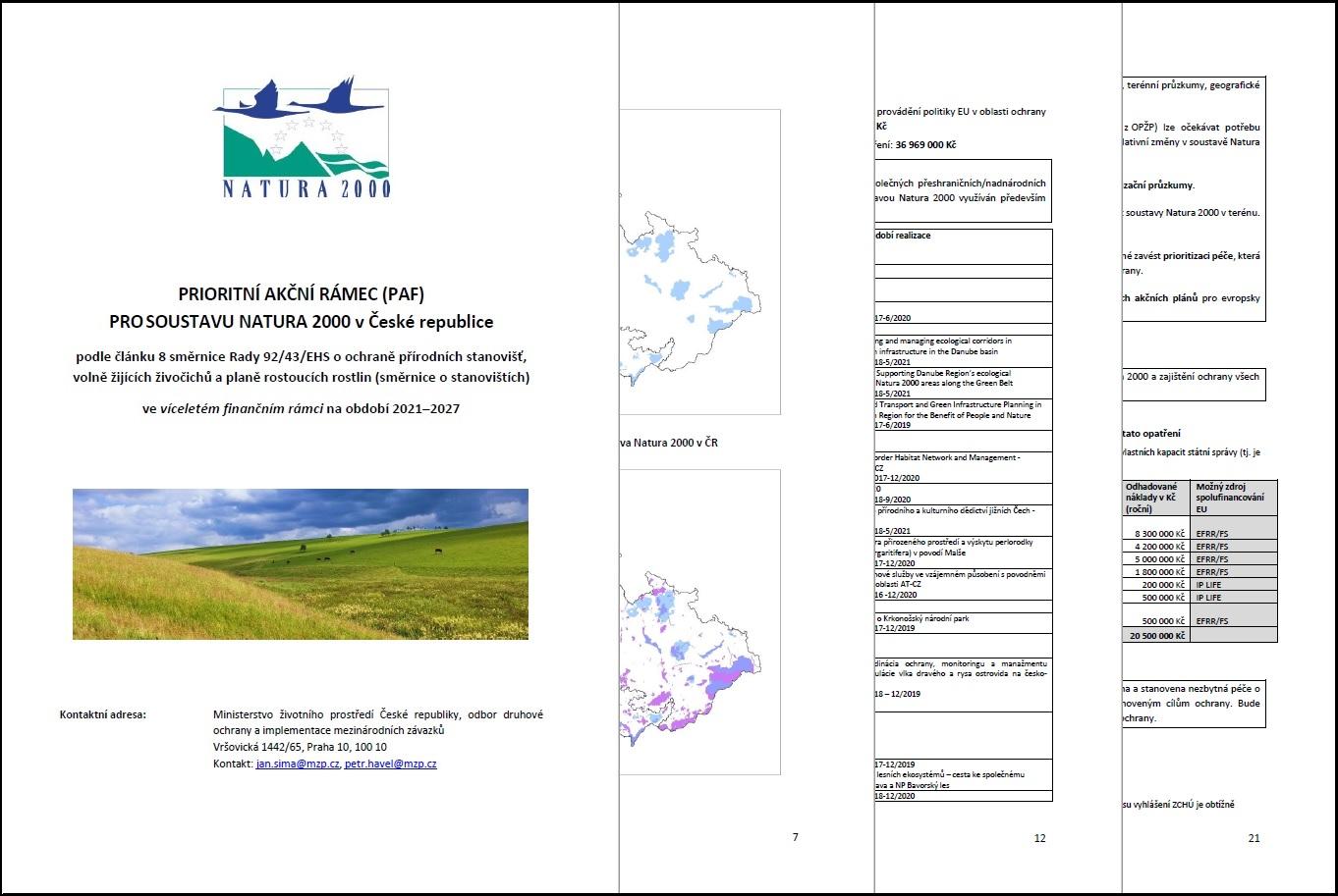 Prioritní akční rámec pro soustavu Natura 2000 pro období 2021–2027, ilustrační foto